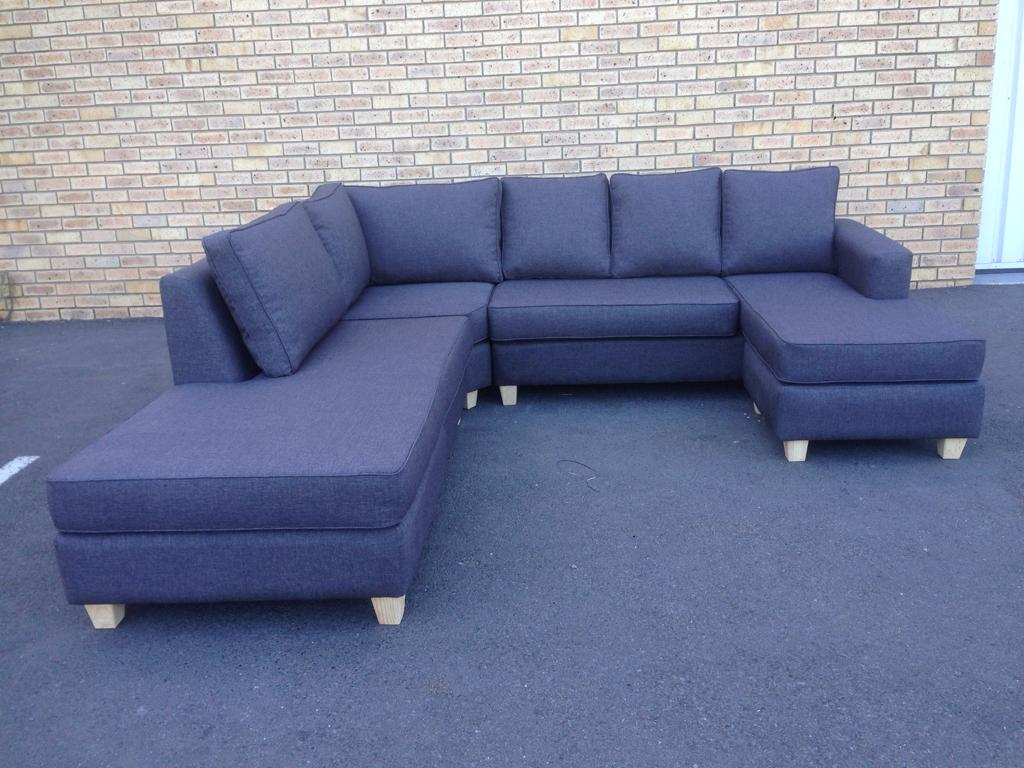 New U Shape Corner Couch with Daybed 200.200x200.200x20.200m